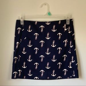 J. Crew Anchor Skirt Size 4